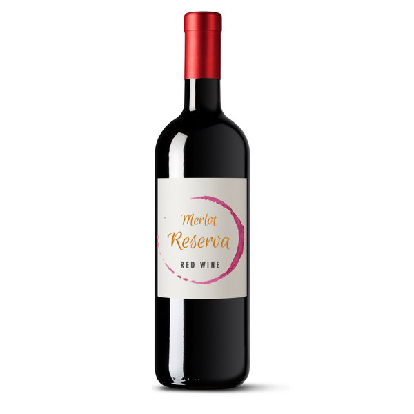 Merlot Reserva red wine